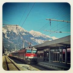 Das Foto wurde bei Innsbruck Hauptbahnhof von Raúl P. am 4/24/2013 aufgenommen