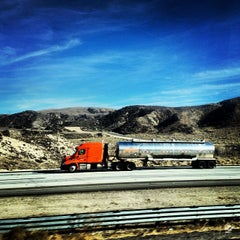 Photo taken at Los Angeles County Line by Michael D. on 1/4/2014