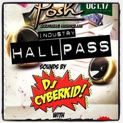 Photo taken at Posh Boutique Nightclub by DJ Cyberkid on 10/18/2012