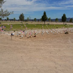 Photo taken at Southern Nevada Veterans Memorial Cemetery by The M. on 8/30/2014