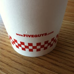 Photo taken at Five Guys by Christie J. on 4/20/2013