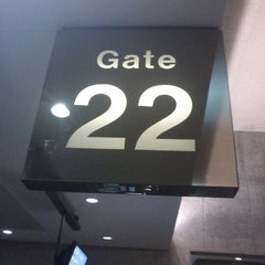Photo taken at Gate 22 by James C. on 10/11/2012
