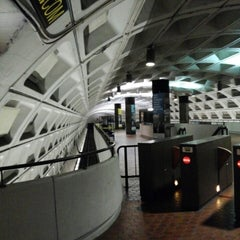 Photo taken at Capitol South Metro Station by Brian R. on 10/12/2013