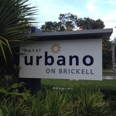 Photo taken at Hotel Urbano at Brickell by Larry P. on 10/2/2012