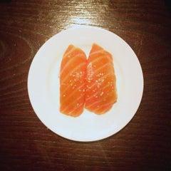Photo taken at Echigo Sushi by Dylan M. on 5/24/2013