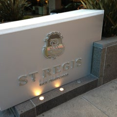 Photo taken at The St. Regis San Francisco by jon a. on 1/13/2013