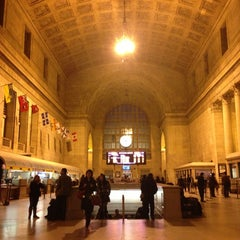 Photo taken at Union Station by TaraxLee X. on 11/19/2012