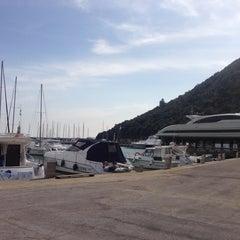 Photo taken at Marina Di Cala Galera by Roberto C. on 3/14/2014