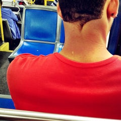 Photo taken at MTA Bus - M60 (LaGuardia Airport) - Astoria Blvd @ 32nd by Christopher D. M. on 8/9/2013