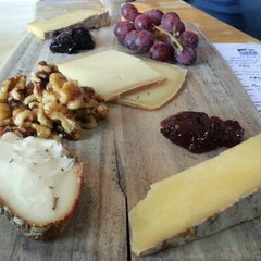 Photo taken at St. James Cheese Company by Austin P. on 1/22/2013