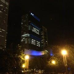 Photo taken at Chicago Jazz Festival by Mike P. on 9/1/2013