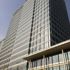 Photo taken at 戴姆勒大厦 Daimler Tower by R L. on 3/8/2013