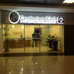 Photo taken at Sala VIP Centurion Club by Jorge C. on 5/17/2013