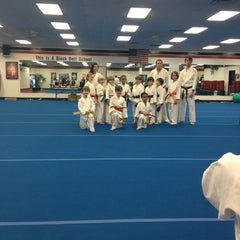 Photo taken at Deaton Karate Studio by Allison M. on 12/20/2012