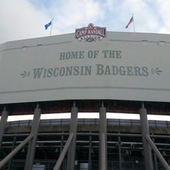 Photo taken at Camp Randall Stadium by Scott G. on 10/19/2012