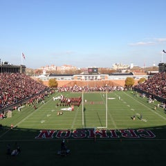 Photo taken at Harvard Stadium by Fil Z. on 11/17/2012