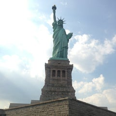 Photo taken at Battery Park by Luis R. on 7/27/2013