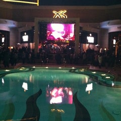 Photo taken at XS Nightclub by Matt H. on 12/16/2012