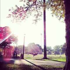 Photo taken at McCarren Park by Rachel D. on 9/16/2012