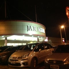 Photo taken at Shopping Jaraguá by Cassio Rogério M. on 10/5/2012