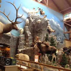 Photo taken at Cabela's by Michael B. on 5/8/2013