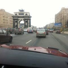 Photo taken at Кутузовский проспект by Темир on 4/27/2013