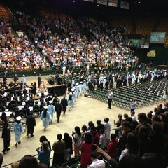 Photo taken at Patriot Center by Anthony N. on 6/18/2013