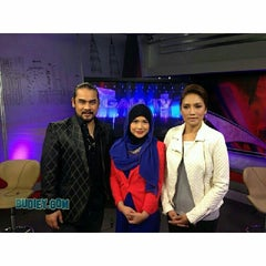Photo taken at Astro Awani by Budiey I. on 2/17/2014