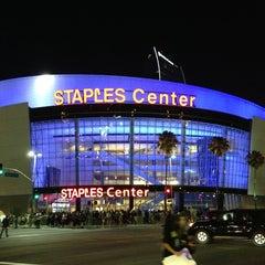 Photo taken at Staples Center by Kamo K. on 6/25/2013
