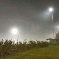 Photo taken at FC Moortsele by Aaron W. on 11/14/2012