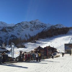 Photo taken at Courmayeur by Alexandra S. on 1/7/2015