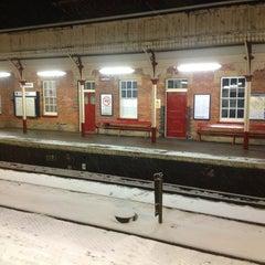 Photo taken at Oakham Railway Station (OKM) by Yusa I. on 1/20/2013