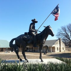 Photo taken at Texas Ranger Hall of Fame and Museum by Timotheus S. on 1/21/2013