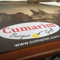 Photo taken at Cumarim Burger Grill by Solange G. on 6/1/2013