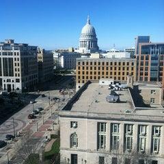 Photo taken at Hilton Madison Monona Terrace by Nathan S. on 10/26/2012