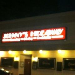 Photo taken at Johnny's Hideaway by Nathan S. on 9/14/2012