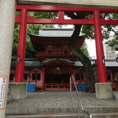 Photo taken at 春日神社 by FEVEROR on 10/19/2013
