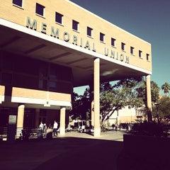 Photo taken at Memorial Union by Matthew R. on 11/20/2012