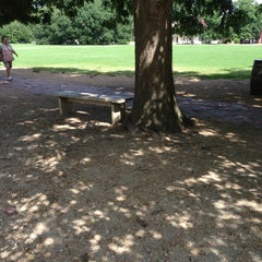 Photo taken at Jacki's And Dave's Favorite Bench by David M. on 7/15/2013