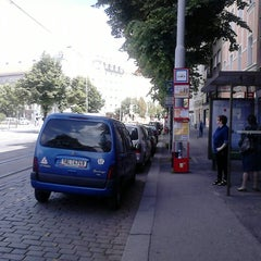 Photo taken at Ortenovo náměstí (tram) by Michaela K. on 6/5/2014