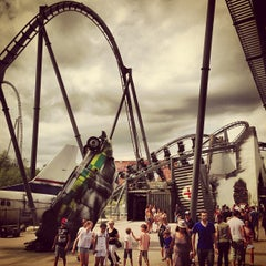 Photo taken at Thorpe Park by Gareth M. on 7/26/2013