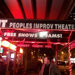 Photo taken at The Peoples Improv Theater by Stephen on 3/27/2013