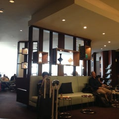 Photo taken at Etihad First Class Lounge by Evelyn T. on 2/4/2013