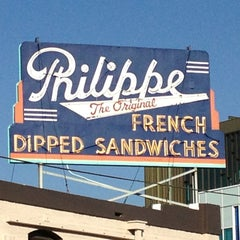 Photo taken at The Original Philippe by Edward P. on 2/26/2013