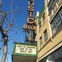 Photo taken at Music Box Theatre by William C. on 1/26/2013