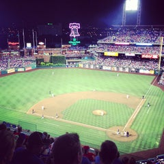 Photo taken at Citizens Bank Park by Owen M. on 7/14/2013
