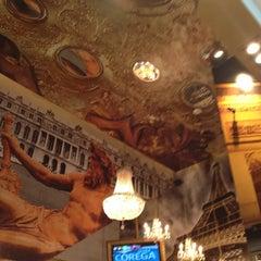 Photo taken at Le Café De París by Luisa H. on 2/14/2013
