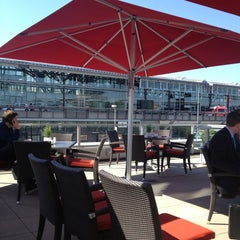 Photo taken at Mövenpick Hotel Stuttgart Airport & Messe by Valeriy M. on 6/6/2013