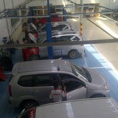 Photo taken at ASTRIDO Authorized Toyota Dealer by Mochamad Akbar N. on 1/30/2014