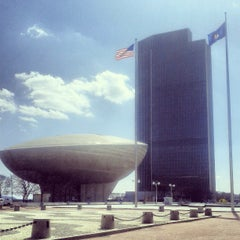 Photo taken at Empire State Plaza by Scooter C. on 4/5/2013
